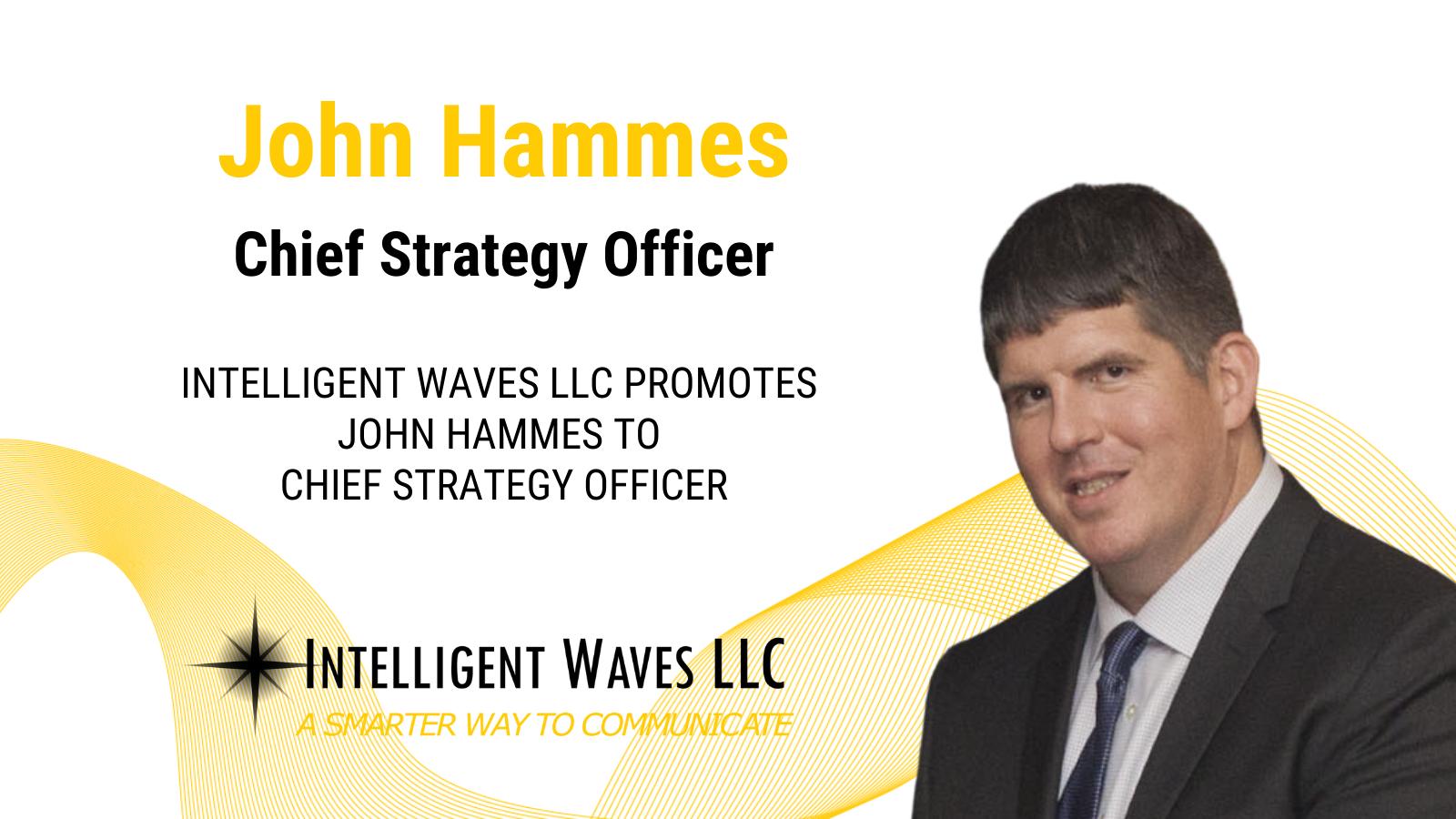 John Hammes promotion social graphic